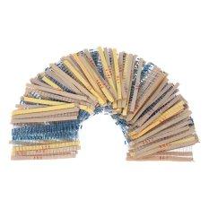 Jual Beli 2000 Buah 1 4 Watt 100 Nilai 1 Ohm For 1 M Ohm Segala Resistor Film Logam Golongan Kit Komponen Elektronik Internasional Hong Kong Sar Tiongkok