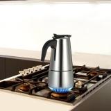 Harga 200 Ml Stainless Steel 4 Cangkir Espresso Percolator Kompor Kopi Maker Mocha Pot Untuk Digunakan Pada Gas Atau Listrik Kompor Intl Original