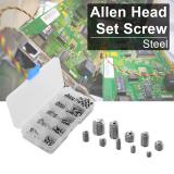 Cara Beli 200 Buah Multi Ukuran Baja Allen Kepala Soket Heksa Lundi Sekrup Macam Ditetapkan Bi413