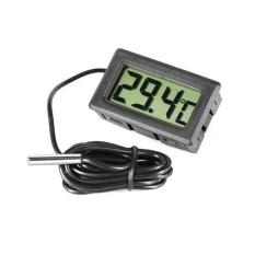 2015 Mini Akuarium LCD Digital Tampilan Termometer Ikan Tangki Air Laut-50 ~ + 70 Derajat Celcius-Internasional