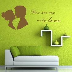... Dinding Kamar Mengatakan Quote Source · 2016 Wall Stiker Lover Kiss DIY Wall Sticker Dekorasi Rumah Wall Art Dekorasi Pernikahan AYA
