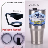 Harga 2017 30 Oz Tumbler Cups 304 Stainless Steel Rambler Cooler Vacuum Cup Terisolasi Kendaraan Kopi Mug Bir Cangkir Air Kopi Travel Mug Intl Terbaru