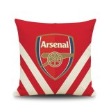 Beli 2017 Arsenal Cotton Line Sofa Kursi Bantal Sarung Bantal Internasional Cicil