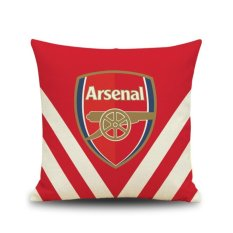 Harga 2017 Arsenal Cotton Line Sofa Kursi Bantal Sarung Bantal Internasional Asli