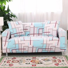 Promo 2017 Hot Sale Fashion Loveseat Sofa Sectional Sofa 3 Seater Sofa Melindungi Cover Stretch Slipcover Slip Resistant Soft Kain Panjang 145 Cm Untuk 185 Cm Intl