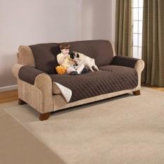 2018New Reversible Couch Mantel Tahan Air Tahan Lama Peliharaan Sofa Bantalan Anjing Alas Mewah Reversible Sofa Mebel Pelindung-Internasional