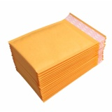 Review 20 50 100Pcs 18X23Cm Kraft Bubble Mailers Padded Paper Envelopes Wholesale Free Ship Intl Tiongkok