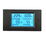 Jual 20A Ac Panel Listrik Meteran Listrik Digital Monitor Energi Pengukur Tegangan Volt Pengukur Amper Original