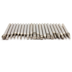 Harga 20Pc 1 8 Diamond Burr Ceramic Engraving Carving For Dremel Rotary Tool Bits 3Mm Hong Kong Sar Tiongkok