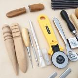 Katalog 20 Pcs Satu Set Kerajinan Kulit Punch Tools Kit Jahitan Ukir Bekerja Jahit Pelana Groover Intl Terbaru
