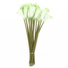 20 Pcs Buatan PU Calla Lily Bunga Bouquet Rumah Kantor Dekorasi Pesta Pernikahan-Intl