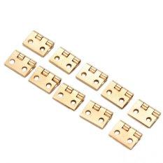 20 Pcs mini Kecil Engsel Logam untuk 1/12 Rumah mini Ature Kabinet furniture St