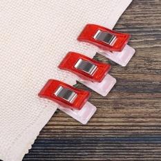 20 Pcs/pack Wonder CLIP untuk Quilting Jahit Merajut Kain Binding Klem (Merah)-Intl