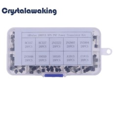 Jual Beli 20Pcsx10 Nilai Npn To 92 Pnp Bc337 Bc547 Lurus Pin Transistor Box Perak Intl