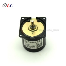 20RPM 60KTYZ gear synchronous motor AC synchronous motor For PTZ,air conditioner,stage lighting,Electric curtains CW/CCW