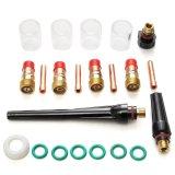 Harga 22 Pcs Welding Torch Stubby Gas Lensa Kaca Cup Kit Untuk Tig Wp 17 18 26 Seri Internasional Yang Murah Dan Bagus