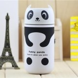 Model 220Ml Stainless Steel Vacuum Flask Water Thermoses Bottle Style Panda Intl Terbaru