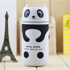 Ulasan Lengkap 220Ml Stainless Steel Vacuum Flask Water Thermoses Bottle Style Panda Intl