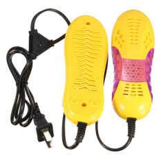 220 V 15 Watt EU Lampu Bentuk Mobil Balap Voilet Pengering Sepatu Bot Pelindung Kaki Bau Deodoran Perangkat Sepatu Kering Pemanas-Internasional