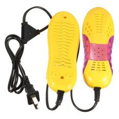 220 V 15 Watt EU Lampu Bentuk Mobil Balap Voilet Pengering Sepatu Bot Pelindung Kaki Bau Deodoran Perangkat Pemanas Pengering Sepatu Baru-Internasional