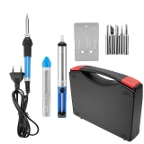 Beli 220V 60W Electric Adjustable Temperature Welding Solder Soldering Iron Tool Tips Intl Dengan Kartu Kredit