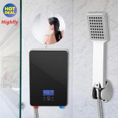 220V 6500W Tankless Instant Electric Hot Water Heater for Home Bathroom Shower - intl