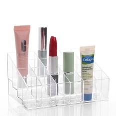 Spesifikasi 24 Cosmetic Transparent Storage Boxes Yang Bagus