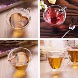 Spesifikasi 240 Ml Berbentuk Hati Dinding Ganda Berlapis Kaca Bening Tea Cup Lover Coffee Mug Hadiah Intl Murah