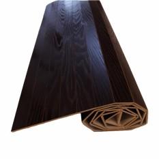243cm x 345cm - Karpet Kayu Plywood / Wood Carpet Gulung Lapisan Veneer - Dark Brown - United Goods