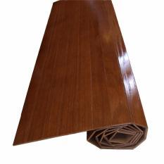 243cm x 345cm - Karpet Kayu Plywood / Wood Carpet Gulung Lapisan Veneer - Natural - United Goods