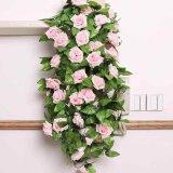 Harga Bunga Mawar Dan Dedaunan Rambat Palsu Panjang 2 4 M Untuk Dekorasi Pernikahan Baru
