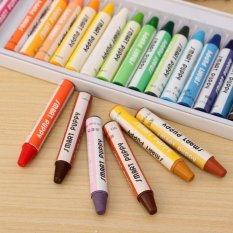 25 Warna Bebas Racun Krayon Pastel Gambar Pena Seniman Anak-anak Anak-anak Cat Hadiah-Intl