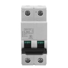Jual 250 V Dc 2 P Miniatur Tegangan Rendah Air Circuit Breaker Energi Matahari Switch 63A Intl Branded Murah
