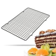 25*40 Cm Logam Non-stick Cooling Rack Baking Alat Roti Pendingin Rak-Internasional