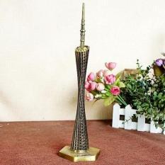 24 Cm Tinggi Logam Model Guangzhou Canton Tower-Intl