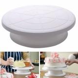 Beli 28 Cm Dapur Dekorasi Kue Es Krim Putar Meja Putar Layar Berdiri Plastik Di Hong Kong Sar Tiongkok