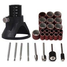 Spesifikasi 29 Pcs Universal Rotary Tool Accessories Woodworking Burr Penggilingan Amplas Alat Baru Internasional Lengkap