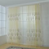 Toko 2 Pcs 1 2 5 M Drape Offset Print Tree Pola Voile Gorden Tulle Sheer Curtain Beige Intl Terdekat