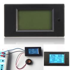 2 Buah 100 Amp AC Digital Panel Meter Yang Memimpin Tenaga Pengawas Energi Pengukur Tegangan Volt Pengukur Amper