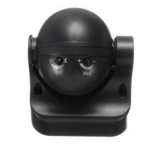 2 Pcs 180 ° Putih atau Hitam Hunian Sensor PIR Gerak Saklar Lampu Terpasang Di Dinding 12 M Hitam-Intl