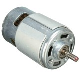 Spesifikasi 2 Pcs Dc12 24V 150 W 13000 15000 Rpm 775 Micro High Speed Power Motor 5Mm Shaft Baru Intl Baru