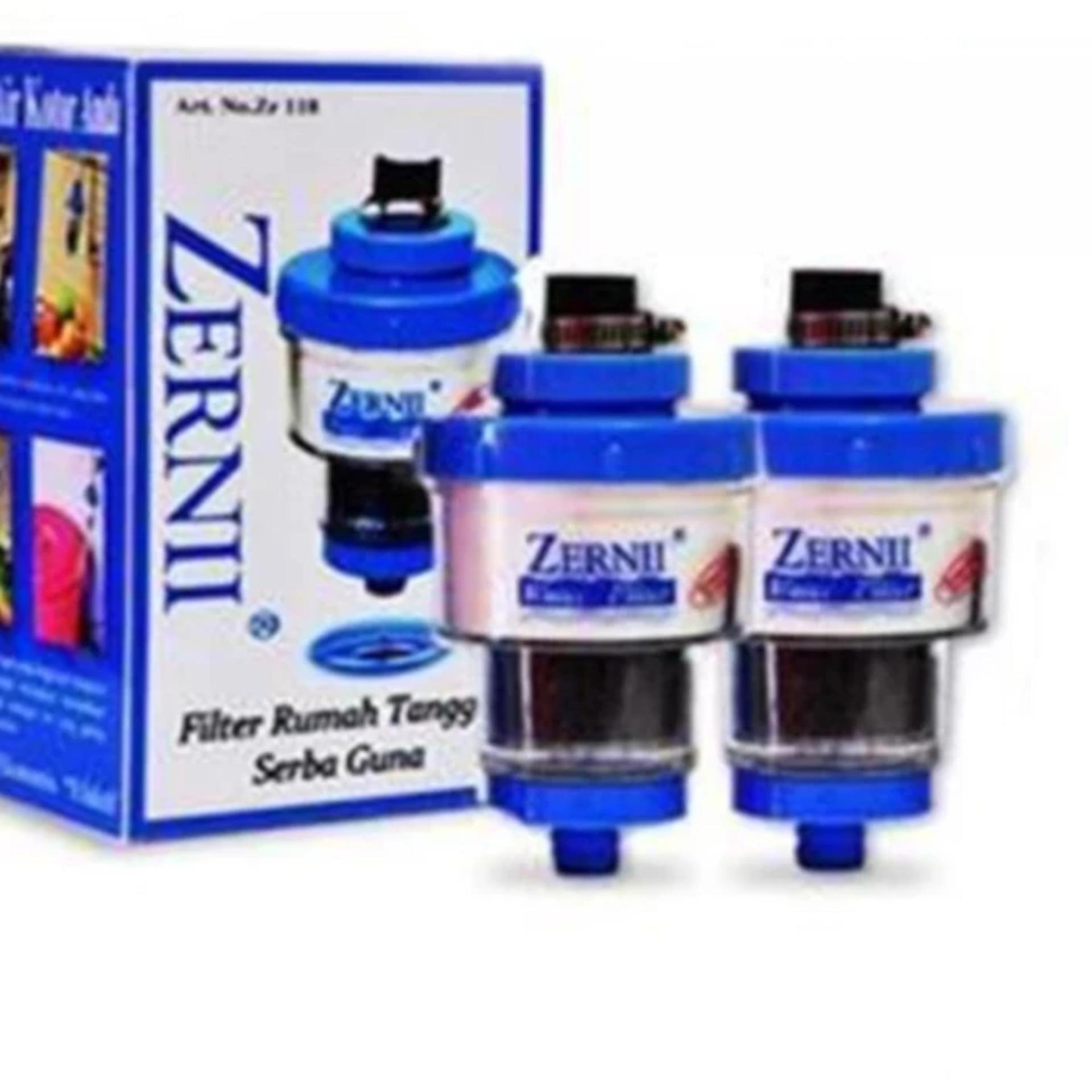 Bandingkan Toko 2pcs Filter Keran Air Zerni / Filter Saringan Air Zernii / Karbon Aktif Kran