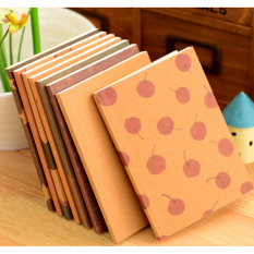 2 Pcs Handmade Journal Memo Dream Notebook Kertas Notepad Blank Diary Warna Acak-Intl