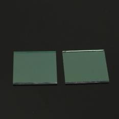 2 Pcs Transparan Konduktif Timah Indium Oksida ITO Kaca 6ohm/Meter 20x20x1. 1mm-Intl