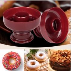2 Pcs X Donut Maker Biskuit Cetakan Kue Cetakan Roti Dessert Pemotong Toko Roti DIY Panggang Alat-Internasional