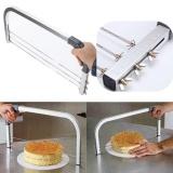 Harga 3 Bilah Adjustable Besar Interlayer Cake Craft Melihat Leveler Slicer Cutter Torts Intl Yang Murah