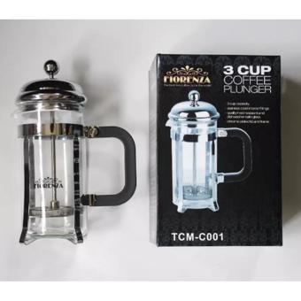 3 Cup Coffee Plunger/ French Press/ Tea & Coffee Maker Fiorenza 350ml
