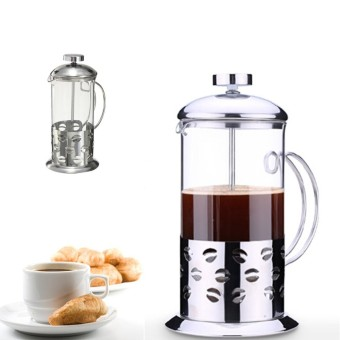 3 PCS Coffee Press Plunge Glass Cafetiere French Filter 800ML - intl