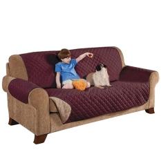 Toko 3 Seater Deluxe Kucing Berlapis Anjing Sofa Cover Couch Slipcover Tahan Air Settee Kursi Mat Pet Furniture Kursi Pelindung Kopi Intl Thinch Online