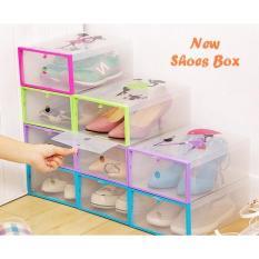 Miliki Segera 3 Set New Shoes Box Kotak Untuk Tempat Sepatu Dan Sandal Terlaris